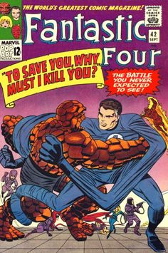 50 Years Ago This Month: It's the battle you never expected to see! The Frightful Four brainwash the... - http://www.afnews.info/wordpress/2015/09/07/50-years-ago-this-month-its-the-battle-you-never-expected-to-see-the-frightful-four-brainwash-the/
