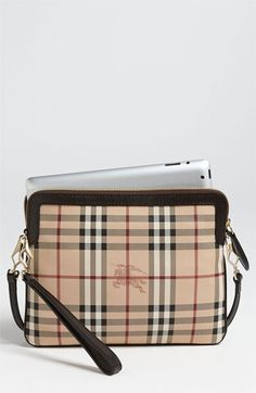 Burberry Haymarket Check iPad Crossbody Bag available at  Nordstrom Fashion  Accessories 45c959b58b690