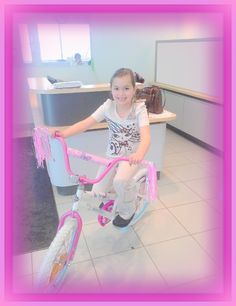 LaRiche winner!  Vada won a new bike after participating in the Mazza Museum & LaRiche car show drawing. #awesome