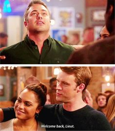 Boden: And as my first official duty as returning chief to Firehouse 51, Kelly Severide, I would like for you to be my Squad Lieutenant once again. (4x09)