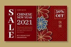 Premium Vector   Chinese new year banner template Chines New Year, New Year Banner, Banner Template, Chinese, Templates, Stencils, Vorlage, Models, Chinese Language