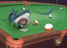 Poolshark by Garv101.deviantart.com on @deviantART