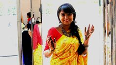 Happy Happy :) - Shampee (Mumbai) Please vote for this entry in Make Saree Go Places! !