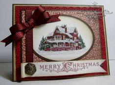 Half Hybrid Christmas Lodge by lisa foster - Cards and Paper Crafts at Splitcoaststampers