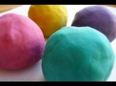 como hacer pasta de modelar flexible casera mejor que el fimo, arcilla y la porcelana fria Isa ❤️ - YouTube