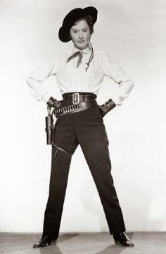Barbara Stanwyck inThe Maverick Queen (1956)