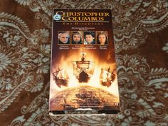 Christopher Columbus: The Discovery (VHS, 1993) OOP Warner/Brando! *NOT ON DVD*