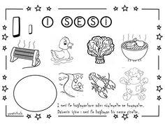 ı sesi çalışma sayfası Kindergarten Activities, Classroom Activities, Primary School, Worksheets, Children, Kids, Education, Math, Google