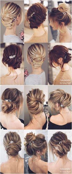 Tonya Pushkareva Long Wedding Hairstyles and Updos #weddings #weddingideas #hairstyles #weddinghairstyles