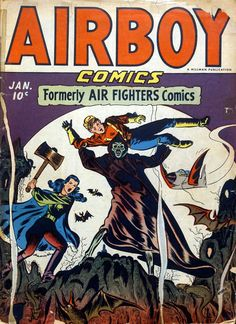Comic Book Cover For Airboy Comics v2 12 [24]