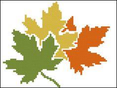 Fall Cross Stitch, Cross Stitch Tree, Cross Stitch Flowers, Cross Stitch Charts, Cross Stitch Designs, Cross Stitch Patterns, Swedish Embroidery, Folk Embroidery, Cross Stitch Embroidery