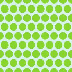 aril pom spot green fabric by scrummy on Spoonflower - custom fabric