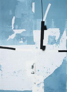 Antoine Puisais - Prenzlauerberg,2014,acrylic, screen-print, filler and spray…