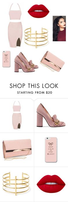 """Untitled #81"" by adriana303 ❤ liked on Polyvore featuring Gucci, New Look, BauXo and Lime Crime"