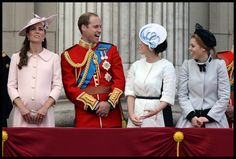 Kate Middleton - British Royals Attend the Trooping the Colour Ceremony