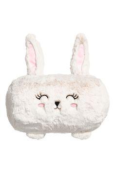 Soft Toy Cushion | White/rabbit | H&M HOME | H&M US