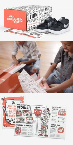 Nike Will Turn Your Children Into Zombie Sneakerheads With Subscription Service | Dieline