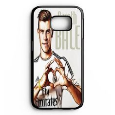 Gareth Bale 11 Caricature Real Madrid Fc Samsung Galaxy S6 Edge Plus Case