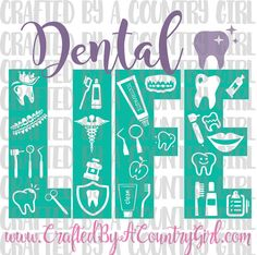 Dental Life Female SVG vinyl cut file by CraftsByACountryGirl More