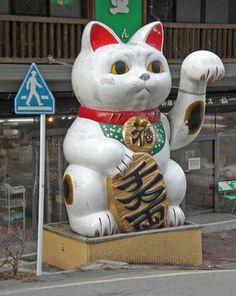 maneki neko - Buscar con Google // giant!!!!! Yes!!