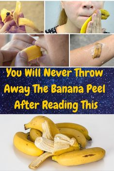 You Will Never Throw Away The Banana Peel After Reading This Health And Fitness Tips, Health Advice, Health And Wellness, Health Remedies, Home Remedies, Natural Remedies, Banana Peel Uses, Skin Breaking Out, Atkins Diet