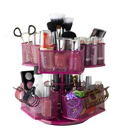 Take a look at this Rose Makeup Carousel by Nifty Home Products on #zulily today!