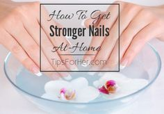 How to make your own homemade nail strengthener at home. This is an amazing remedy for keeping your nails healthy and strong. It is really very simple and inexpensive. No more brittle nails.