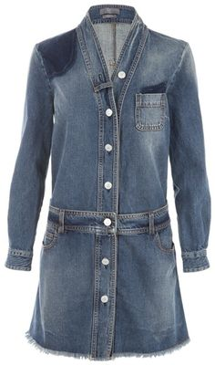 MCQ by Mcqueen Denim Dress - Lyst