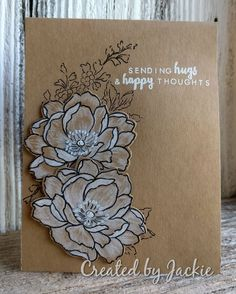 Think this one will be sent into the card drive. Altenew, Black And Brown, Create, Happy, Flowers, Cards, Ser Feliz, Maps, Royal Icing Flowers