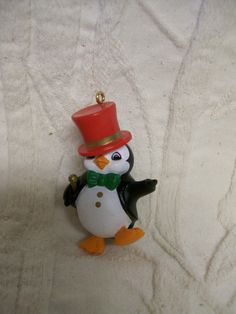 Vintage Hallmark Ornament Penguin