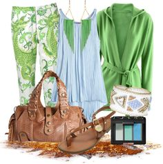 """""""Spring Green"""" by gangdise on Polyvore"""