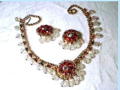 Shimmering DivaLicious Cha Cha Red Necklace by bodaciousjewels, $85.00