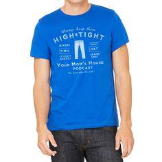 High & Tight Men's Royal Blue T-Shirt