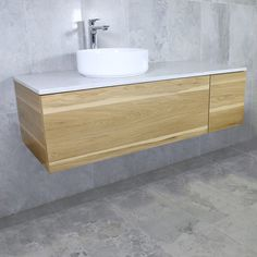 Eden Timber Wall Mount Vanity Cabinet without Top 1200mm