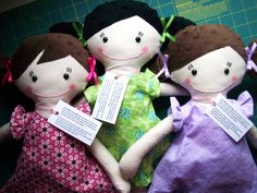 HIdden in my heart doll. Personalize and it will be hidden in the doll's HEART. Scripture, note... I want one of these for Ashlyn!!