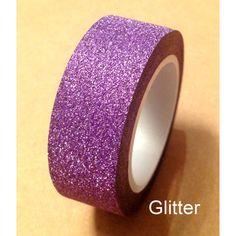 Purple glitter solid