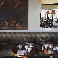 Bonjour! Breakfast time at #hotelcrillonlebrave #provence