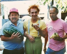"""Rik Mayall on the set of """"Drop Dead Fred"""""""