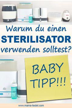 Sterilisator Test: Warum du unbedingt einen Sterilisator für dein Baby verwenden solltest? Pregnancy, Medicine, Soap, Personal Care, Bottle, Binder, Essen, Self Care, Medical