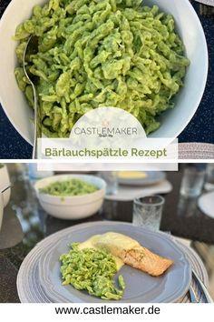 Es ist Bärlauchzeit und diese super leckeren Bärlauchspätzle dürfen auf keinen Fall fehlen. Der Teig ist schnell fertig und nach kurzer Kochzeit stehen die Spätzle auf dem Tisch. Das Rezetp gibt es auf Castlemaker.de Snacks, Super, Guacamole, Green Beans, Mexican, Foodblogger, Vegetables, Ethnic Recipes, Drinks