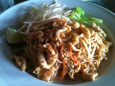 Kasira Fine Thai Cuisine Nanaimo. Pad Thai. Island Food, Vancouver Island, Fine Dining, Bon Appetit, Favorite Recipes, Restaurant, Drink, Eat, Breakfast