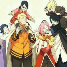 Uchiha, Uzumaki, Haruno, Hyuuga, Hinata, Sarada, Naruto, Sakura, Himawari, Sasuke, Boruto, Family