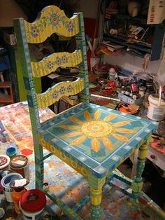 Painting It: painted furniture