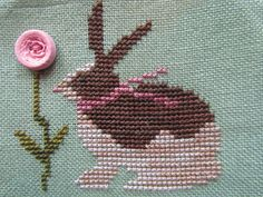 Garden Grumbles and Cross Stitch Fumbles: Rabbits Here, Rabbits There, Rabbits Everywhere!