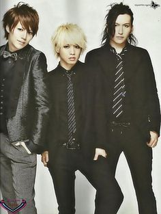 Shou, Hiroto, Tora: Alice Nine