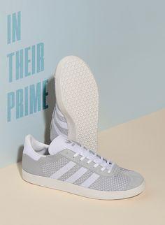 684f865ebe71 adidas Originals Gazelle Primeknit  Light Grey