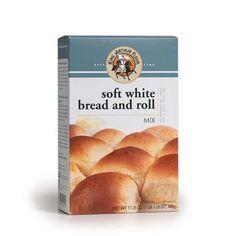 Soft White Dinner Rolls Yeast Bread Mix