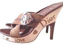 Dior Brown Mules