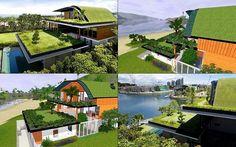 Casa 100K di Mario Cucinella | TreeBlog Abitare e Design | Pinterest ...