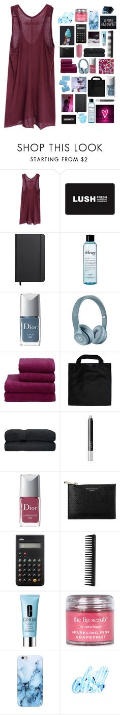 """""""i can lift you up, you're only 5'2"""""""" by thunderingwaves ❤ liked on Polyvore featuring Enza Costa, Shinola, philosophy, Christian Dior, Christy, Black+Blum, NARS Cosmetics, Aspinal of London, Braun and GHD"""
